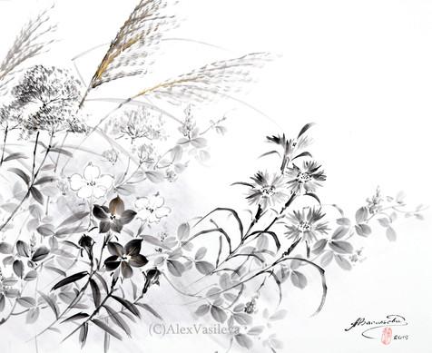 Осень. Осенние травы