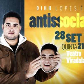 Diih Lopes é Antissocial