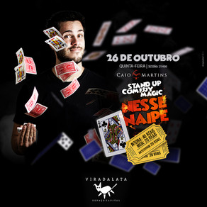 Caio Martins - Stand Up Comedy Magic