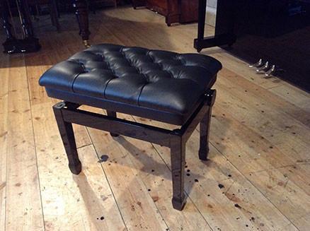 Black Piano Stool - £155
