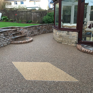 Resin patio & path Taunton