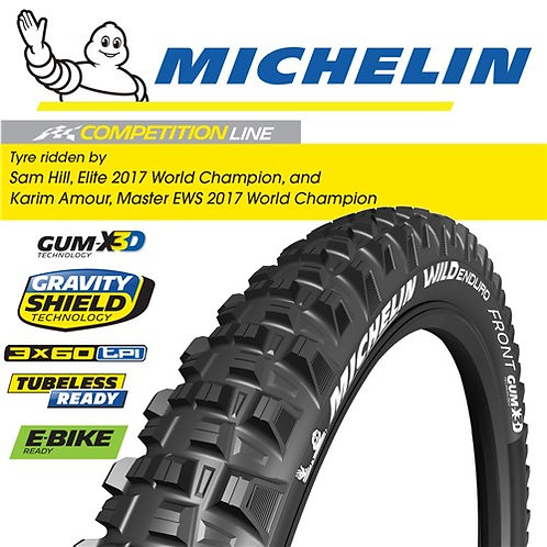 "Michelin Wild Enduro Front - 27.5""x2.6"""