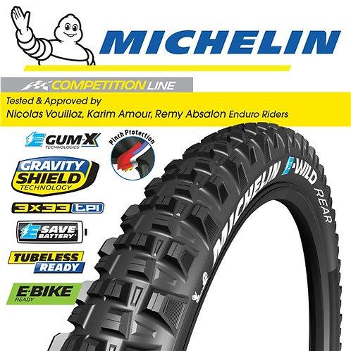"""Michelin E-Wild Rear - 29""""x2.6"""""""