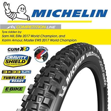 "Michelin Wild Enduro Rear - 27.5""x2.4"""