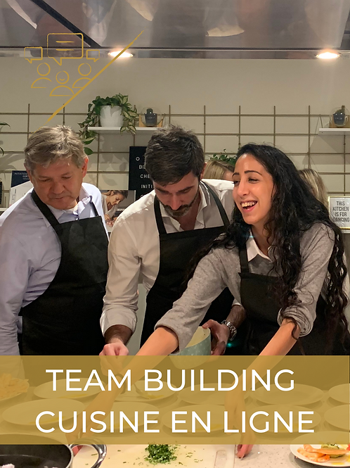 En ligne | Team building cuisine