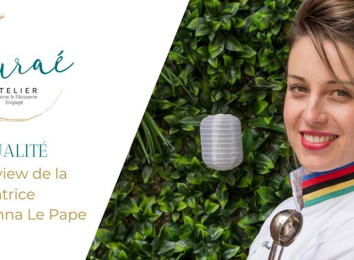 Interview de Johanna Le Pape, fondatrice de l'Atelier Auraé