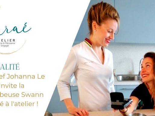 L'atelier Auraé accueille la youtubeuse Swann Périssé !