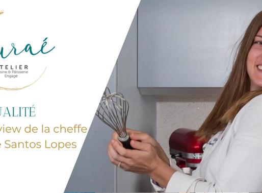 Claire Santos Lopes, Cheffe résidente de l'Atelier Auraé