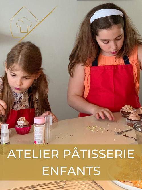 Atelier de pâtisserie enfants