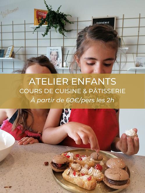 Atelier enfants | Cuisine ou pâtisserie