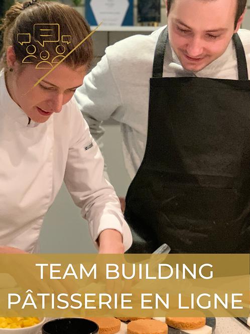 En ligne I Team building pâtisserie