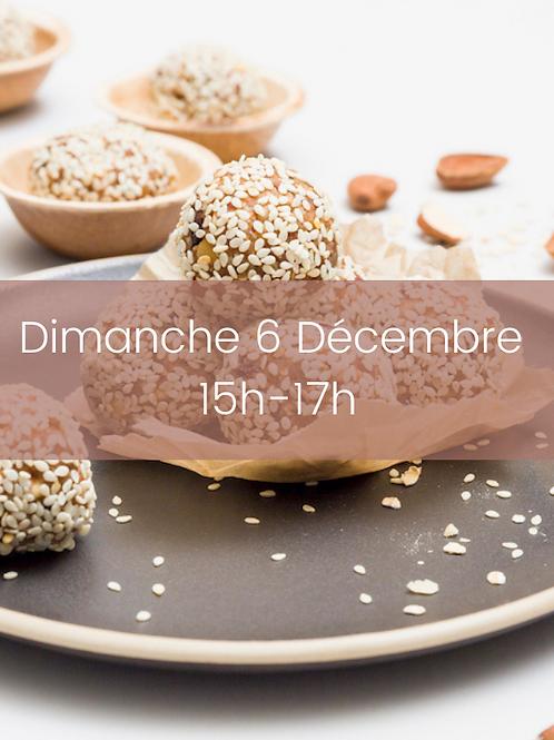 Encas sains  | Dim 06 Dec | 15h-17h