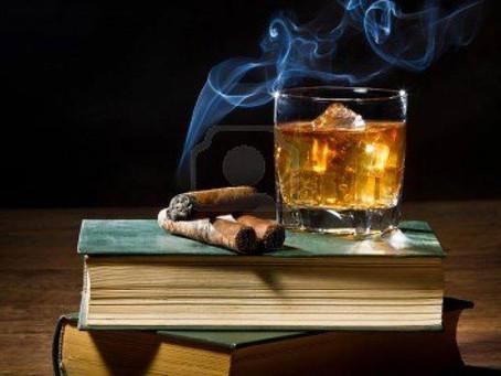 Amaro Cinpatrazzo and a Cigar
