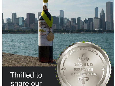 The San Francisco World Spirits Competition Recognizes Amaro Cinpatrazzo with a Silver Medal Win!!!