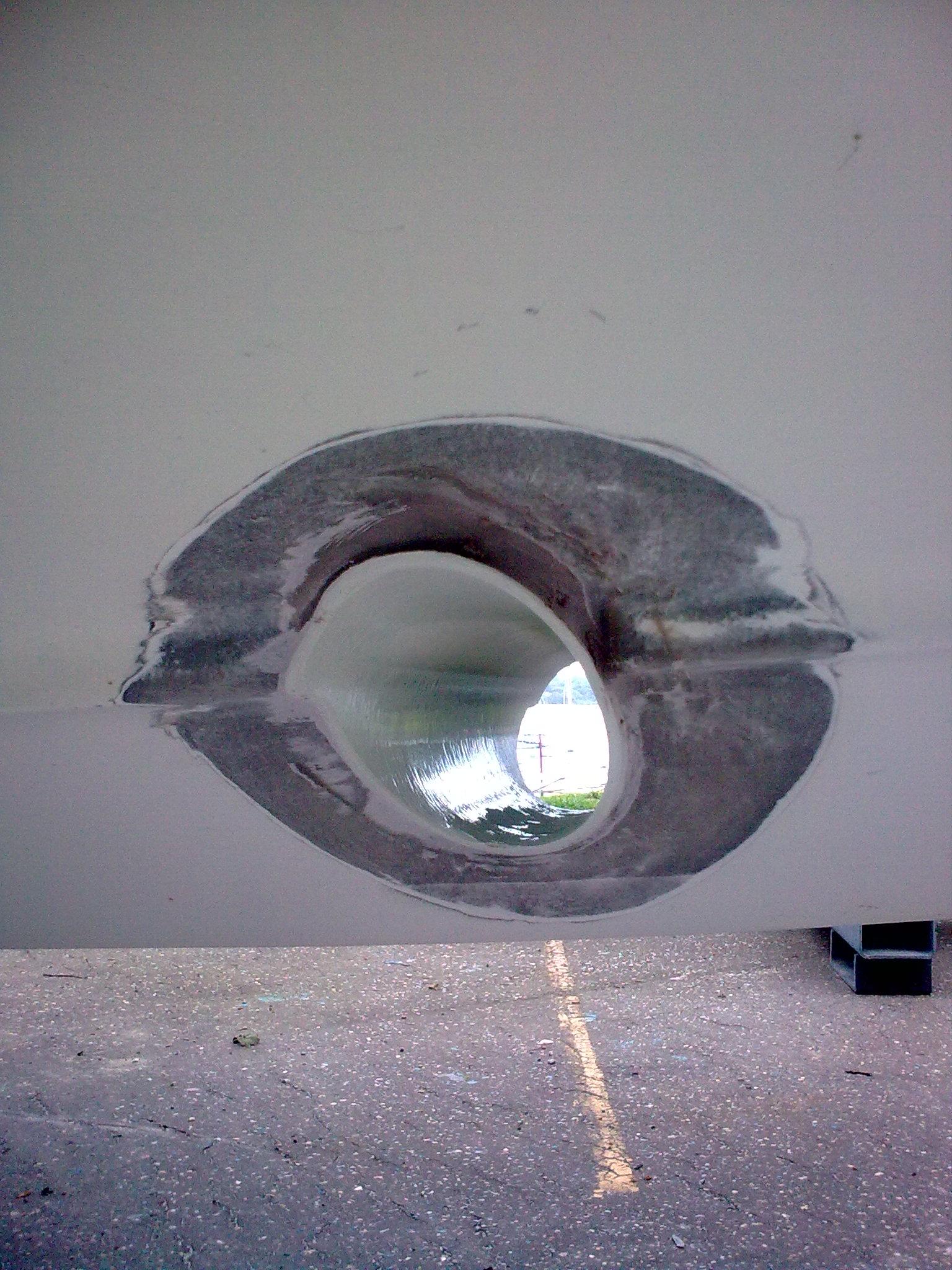Bow Thruster Installation