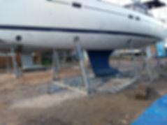 Sand Blasing, Hull Preparation, Antifoul