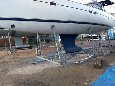 Sand Blasing, Hull Preparation, Antifoul