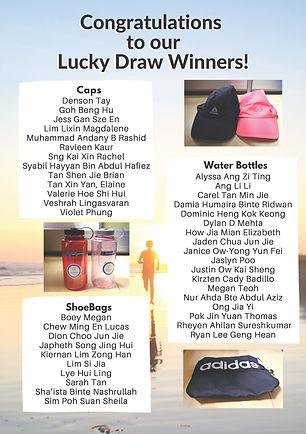 Virtual Run 1st edition_ Lucky Draw winn