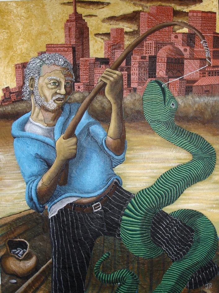 The Hudson River Serpent