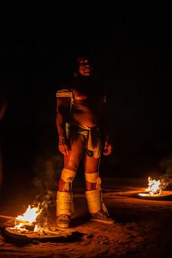Guardião da chama Kuarup