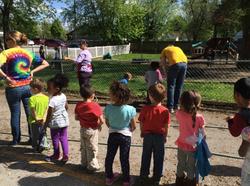 Planting with Preschoolers