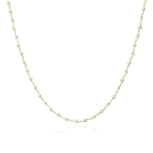 C55 Collar con perlas.
