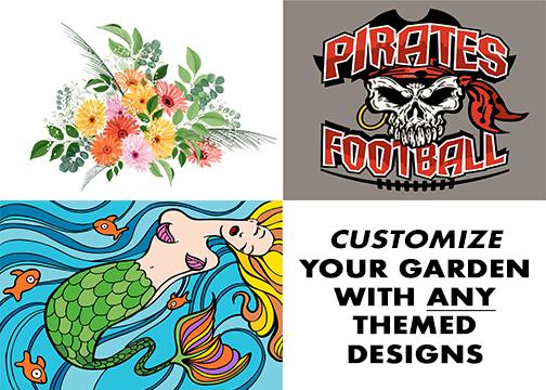 Custom Theme Designed Garden