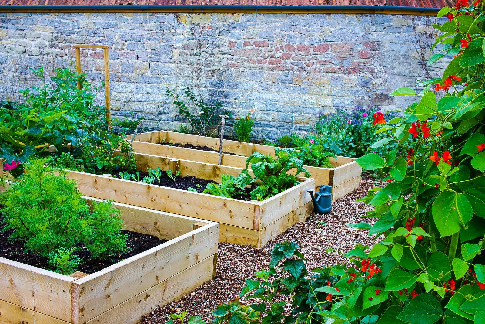 On-Ground Garden Beds