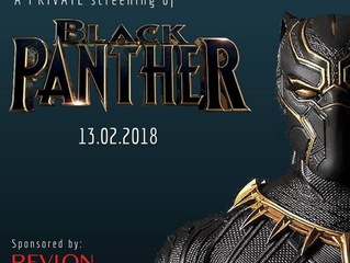 Our Black Panther Screening