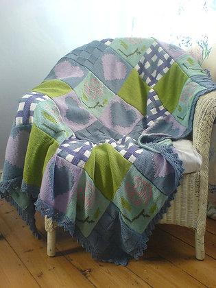 Pattern for Patchwork throw