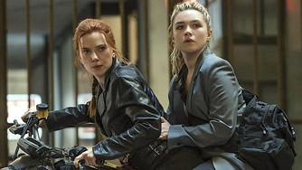 "In Marvel blockbuster ""Black Widow,"" the sisters who snark together spark together"