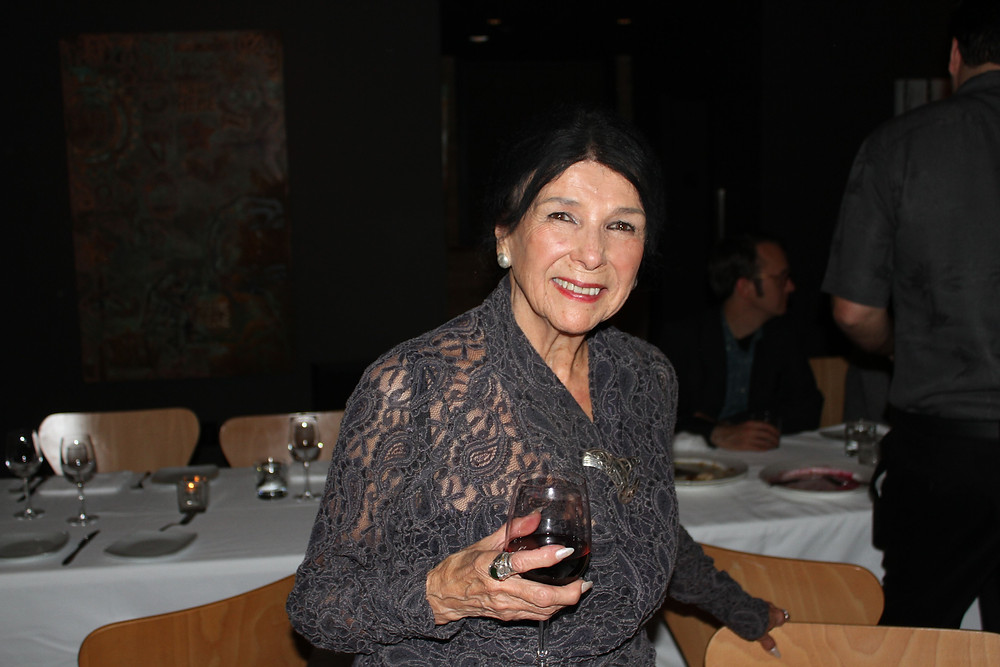 Canadian filmmaker Alanis Obomsawin at the Spoke Club in Toronto, Monday, Dec. 5, 2016.