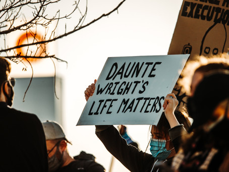 Statement On the Killing of Daunte Wright