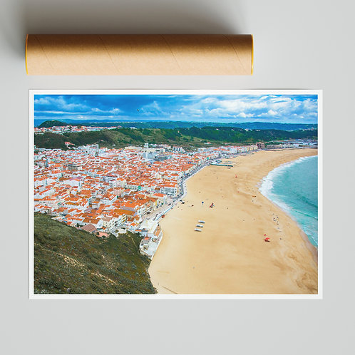 A Postcard from Nazare