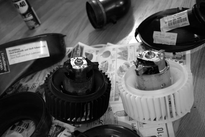 964 Rear blower motor