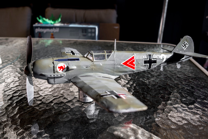Guillow's Me-109 update