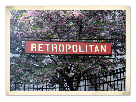 Retropolitan Spring in Paris!