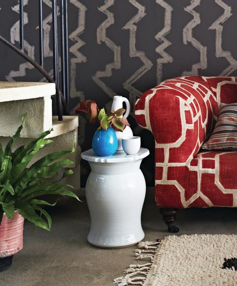 Courtesy of Romo Fabrics, a gathering of our ceramics