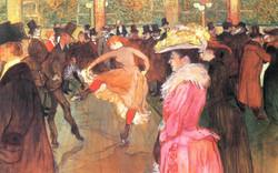 Baile en el Moulin Rouge
