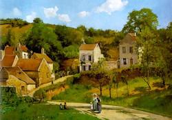 Las colinas de la ermita, Pontoise.