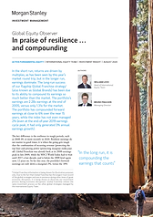 Global Equity Observer - In praise of re
