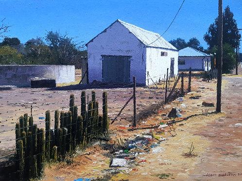 Willem Pretorius: Waenhuis, Philippolis