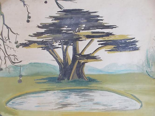 Frances Hodgkins: Cypress Tree