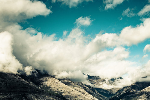Gary White: Incoming Storm, Queenstown, New Zealand