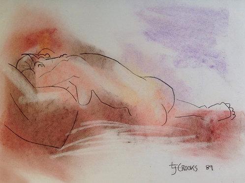 Lindsay Crooks: Untitled Nude