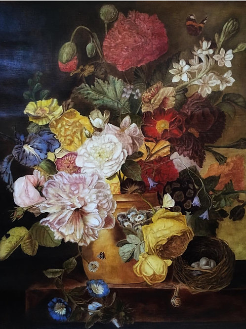 Mila Soleil: Flowers Still Life