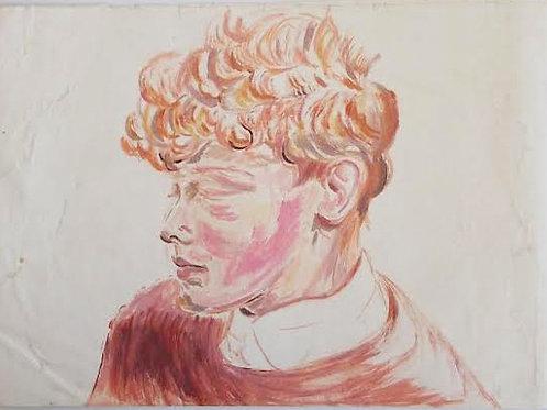 Frances Hodgkins: Red Haired Boy
