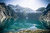 Glacier Lake Reflection, Fiordland Natio