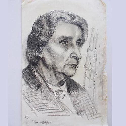 Frances Hodgkins: Self Portrait
