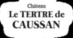Logo, Château Le Tertre de Caussan